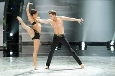 """Top 20 contestants Audrey Case and Matthew Kazmierczak perform a Jazz routine to """"Hear Me Now"""" choreographed by Sonya Tayeh on SO YOU THINK YOU CAN DANCE."""