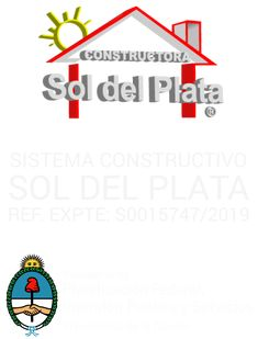 Planos de 2 Dormitorios – Constructora Sol del Plata Small House Plans, 30, Letters, How To Plan, Ideas, Home Made Simple, Manufactured Housing, Micro House, Tiny House Plans