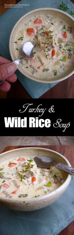Turkey Wild Rice Sou
