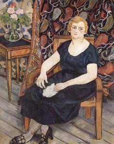 Suzanne Valadon Madame Levy oil painting image