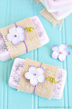 Lavender Lemon Soap - A Pumpkin And A Princess