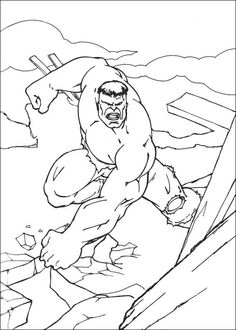 The HulkinatorThe Hulk was created by Marvel Comics. This fictional superhero the Hulk is portrayed as a large green humanoid that possesses immense . Hulk Coloring Pages, Superhero Coloring Pages, Coloring Pages For Boys, Free Printable Coloring Pages, Coloring Sheets, Coloring Books, Superhero Kids, Author Studies, Printed Pages