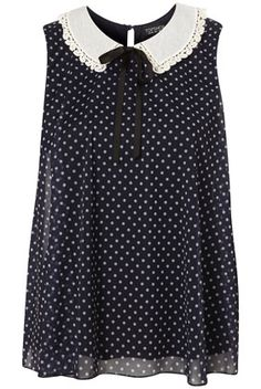 just perfect. jeans, skirts, day, night. summer to winter. love. nows the time to be spotted in polka dots.