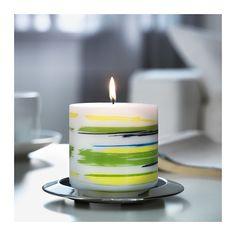 JÄBBIG Neparfumovaná sviečka  - IKEA