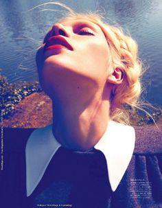 Aline Weber: Vogue Japan, August 2011