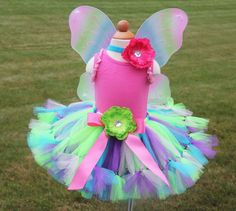Butterfly Fairy Costume Petti Tutu Set by PirouetteBoutique, $59.95