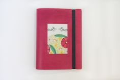 Print Emporium Flowers A6 Leather Notebook