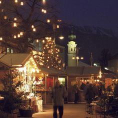 Christmas market in Lienz, Osttirol. #feelaustria