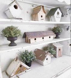 love the birdhouses