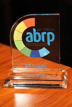 Troféu do 30º Concurso Universitário de Monografias e Projetos Experimentais - 2012.