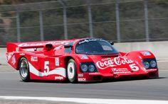 Coke-liveried Porsche 962