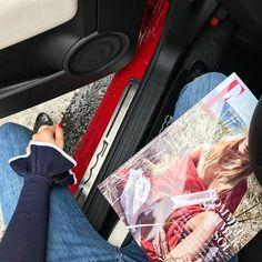 Annonce | Vi har regn i Aarhus i dag og vælger derfor bilen til at tage os rundt på sightseeing  ARoS  #ELLExFiat500croadtrip #Aarhus #sightseeing #Fiat500c @fiatdanmark  via ELLE DENMARK MAGAZINE OFFICIAL INSTAGRAM - Fashion Campaigns  Haute Couture  Advertising  Editorial Photography  Magazine Cover Designs  Supermodels  Runway Models