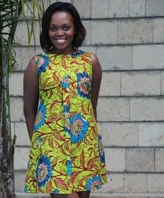 DAY 18 : THE SHIFT DRESS | 100 Days Of African Fashion