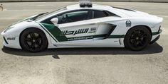 Where else but Dubai would you find a Lamborghini Aventador police car?