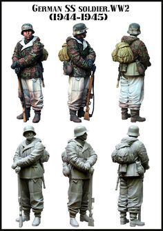 [DIWEINI] 1 35 scale resin model figures kit German E118