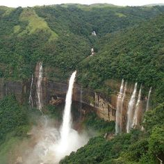Incredible India @ Cherrapunji , Meghalaya     It is the second wettest place on Earth. ♥ ♥    Click Like & share :)