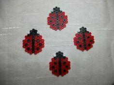 Ladybugs hama beads by Nath Hour