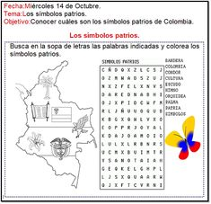 Word Search, Words, Socialism, Colombian Flag, Geography Activities, Alphabet Soup, Horse