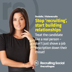 2015 #recruitment tips from @SheRecruits #rsTips #realpeople