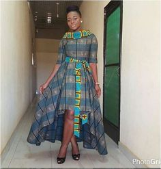 Check Out This Butterfly Ankara Styles Gown http://www.dezangozone.com/2016/07/check-out-this-butterfly-ankara-styles.html