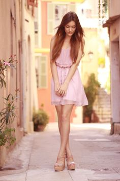 shy-girl-pink-dress-long-hair_large