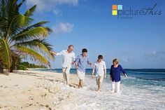 Love photographing this family! Great colours guys and lots of laughs on the beach in South Sound Grand Cayman for a family portrait.