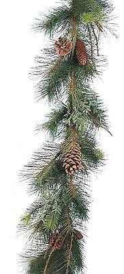 Sage & Co. Lodge Pine, Fir, and Cedar Garland