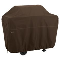Xx - Large Bbq Grill Cover - Dark Cocoa (Brown) - Madrona
