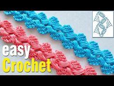 Double Crochet, Easy Crochet, Crochet Stitches, Crochet Patterns, Macrame Purse, Crochet Videos, Crochet For Beginners, Cord, Weaving