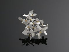 CHAO HSIEN KUOSparkling Forest brooch/ white edition, no.1