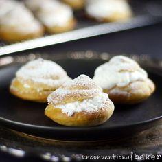 Gluten-Free Vegan Cream Puffs / Profiteroles {Refined Sugar-Free} | Gluten-Free Vegan Love | Bloglovin'