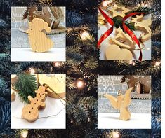 Bring a bit of and magid to your home with our traditional wooden Christmas tree decorations. Wooden Christmas Tree Decorations, Santa Decorations, Handmade Decorations, Traditional Christmas Tree, Traditional Decor, Christmas Rose, Christmas Traditions, Wood Art, Gift Wrapping