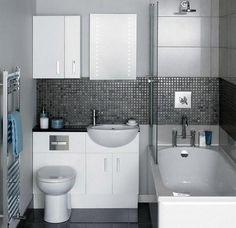 Simple Bathroom Design Ideas With A Small Tubs Small Bathroom Floor Plans, Small Bathroom Layout, Simple Bathroom Designs, Small Bathroom Storage, Modern Bathroom Design, Bathroom Ideas, Budget Bathroom, Master Bathroom, Shower Ideas