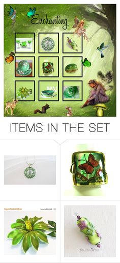 """""""Enchanting"""" by glassdreamshawaii ❤ liked on Polyvore featuring art and vintage"""