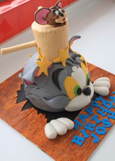 Celebrate with Cake!: Tom and Jerry Cake