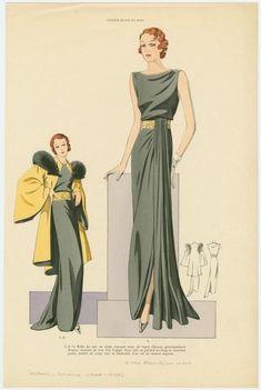 Мода 30-х: хоть бери и шей! | Выкройки онлайн и уроки моделирования