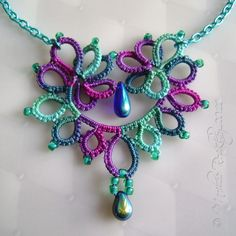 Yarnplayer's Tatting Blog: Do they only come in red?