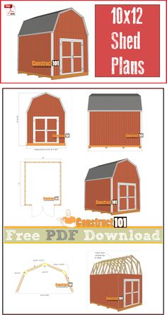 28 Diy Beginner Woodworking Projects 2018 These free woodworking plans will help beginners all the way up to expert ability craft new projects with ease. You'll find woodworking plans for home Diy Storage Shed Plans, Wood Shed Plans, Shed Building Plans, Storage Sheds, Free Shed Plans 10x12, Barn Plans, Storage Boxes, Cool Woodworking Projects, Learn Woodworking