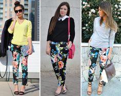 ZARA is the new black: El pantalón estampado de flores de H&M