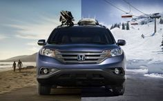 Yep, it can be done. Especially in California. Repin if you ever wanted to surf and snowboard in the same day. #Honda #2012CRV #LeapList