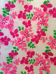 Linda By Leigh Martin Key West Hand Print Fabrics Lilly Pulitzer Fabric Printed