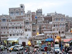 Hard to believe but pretty much all of these buildings in Yemen were built with cob, even those with intricate architecture.