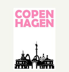 "Copenhagen - Print - 8""x11"" (A4 size)."
