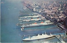 Homeporting! The times that used to be! SS United States