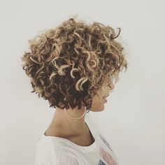 Curly cut and color LOVE