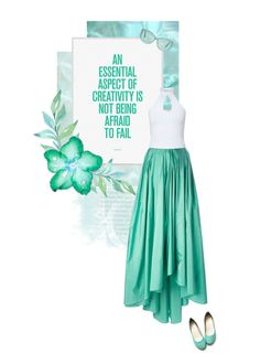 """""""Mint"""" by onemonday ❤ liked on Polyvore featuring Linda Farrow, Ollio, MaxMara and Miss Selfridge"""