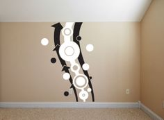 Wall Decal  Abstract Modern Trendy Living Room by WallStickums, $98.00