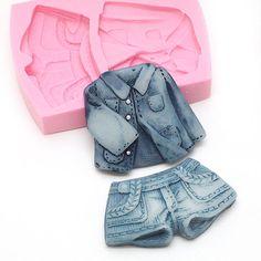 Shorts & Jacket - Silicone Mold #ShortsSiliconeMold #JacketSiliconeMold