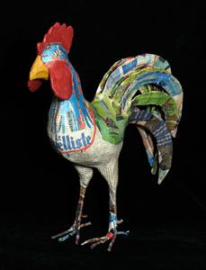 Indigo Arts Gallery | Haitian Art | Papier Maché Sculptors