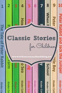 Classic Stories for Children {A Review}